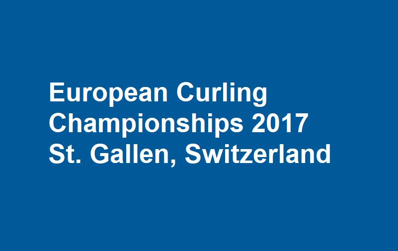 Logo: European Curling Championships 2017